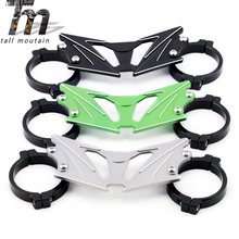 BALANCE SHOCK FRONT FORK BRACE For KAWASAKI Z250 2013-2014, Z300 2015 2016 2017 2018 Motorcycle Accessories Aluminum стоимость