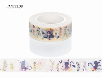 10M*10mm Naughty cat Washi Masking tape Quality good price HOT sell  DIY Scrapbook Embellishments Decoration