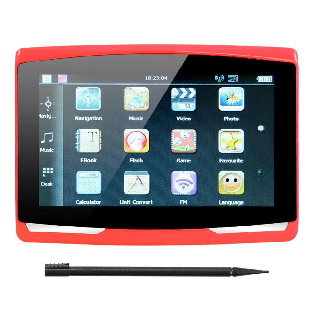 5 Inch Car GPS Navigation Sat Nav 8G CPU800M Wince6.0+FM Transmitter+Multi-languages Car Accessories