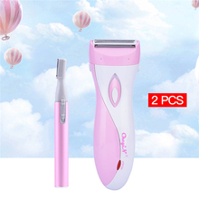 Waterproof Electric Lady Women Shaver Female Epilator Body Hair Removal Razor Tr
