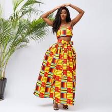 Африканские платья для женщин модное макси платье с воском традиционные