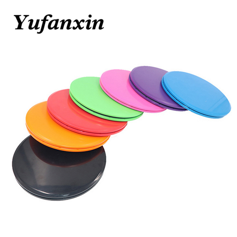 2PCS Sliding Slider Gliding Discs Fitness Disc Exercise Sliding Plate For Yoga Gym Abdominal Core Training Exercise Equipment