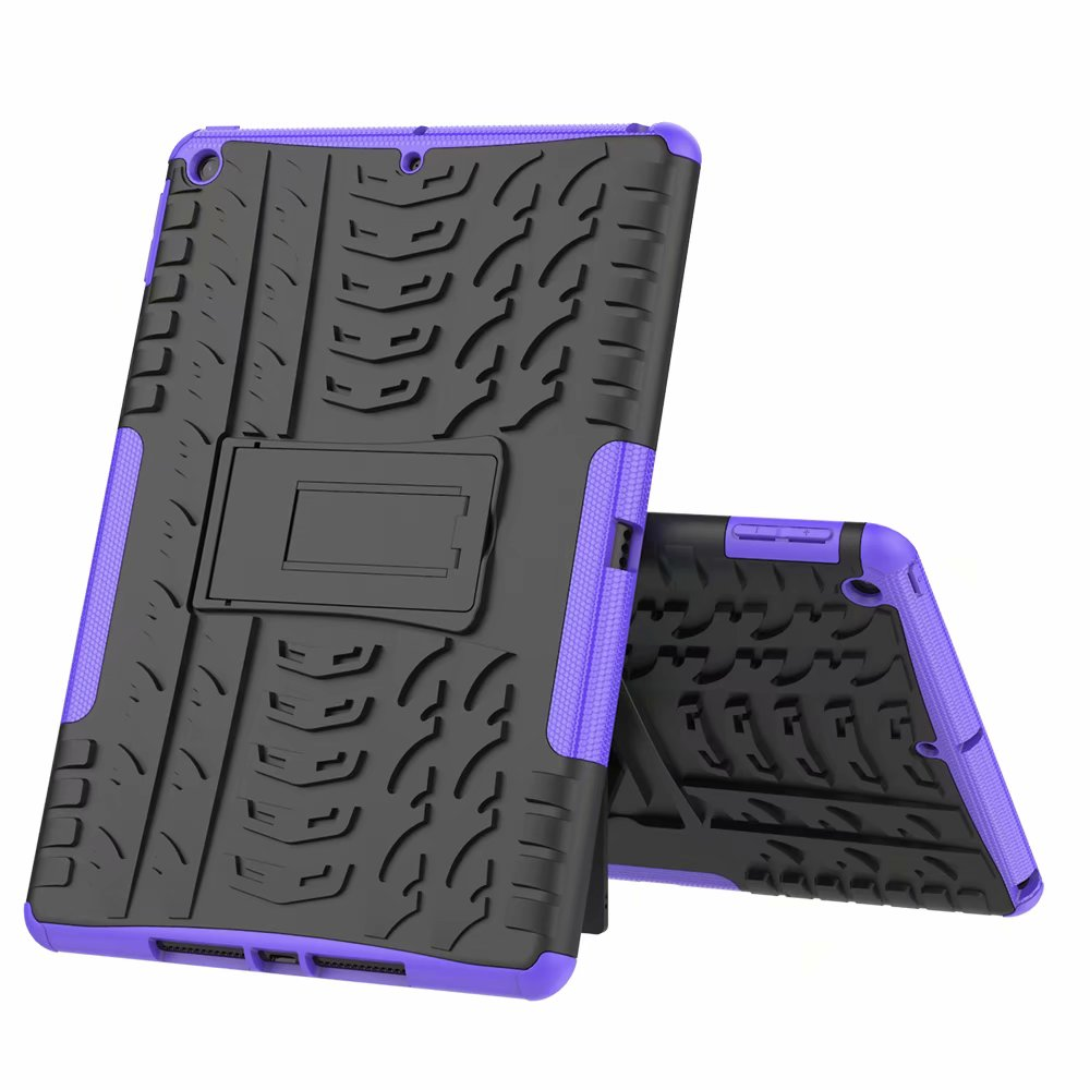 purple Clear New Case Cover For Apple iPad 10 2 7th Gen 2019 Case Rugged Shockproof Heavy Duty