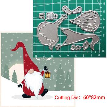 Nowe matryce dla 2020 boże narodzenie Santa Claus matryce do cięcia metalu szablon do wytłaczania scrapbookingu Craft foremki do wycinania dla karta DIY ręcznie robione tanie i dobre opinie