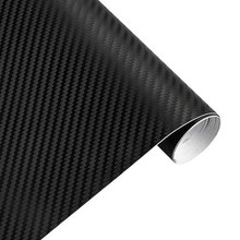 Waterproof Stickers Carbon Fiber Car Wrap Sheet 127*30cm 3D Vinyl Roll Film Useful Practical Fashion(China)
