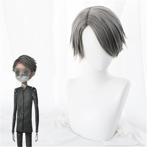 Image 1 - Game Identity V Cosplay Wig Embalmer Aesop Carl Role Play Wigs Synthetic Hair Halloween Party Performance Costume Wig+Wig Cap
