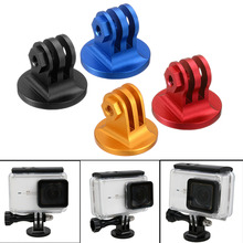 Mayitr 1pc CNC 4 Colors Aluminum Alloy Tripod Mount Lightweight Digital Camera Base Adapter For GoPro