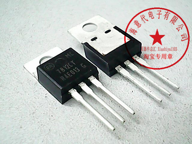 5pcs MC7812CT      7812