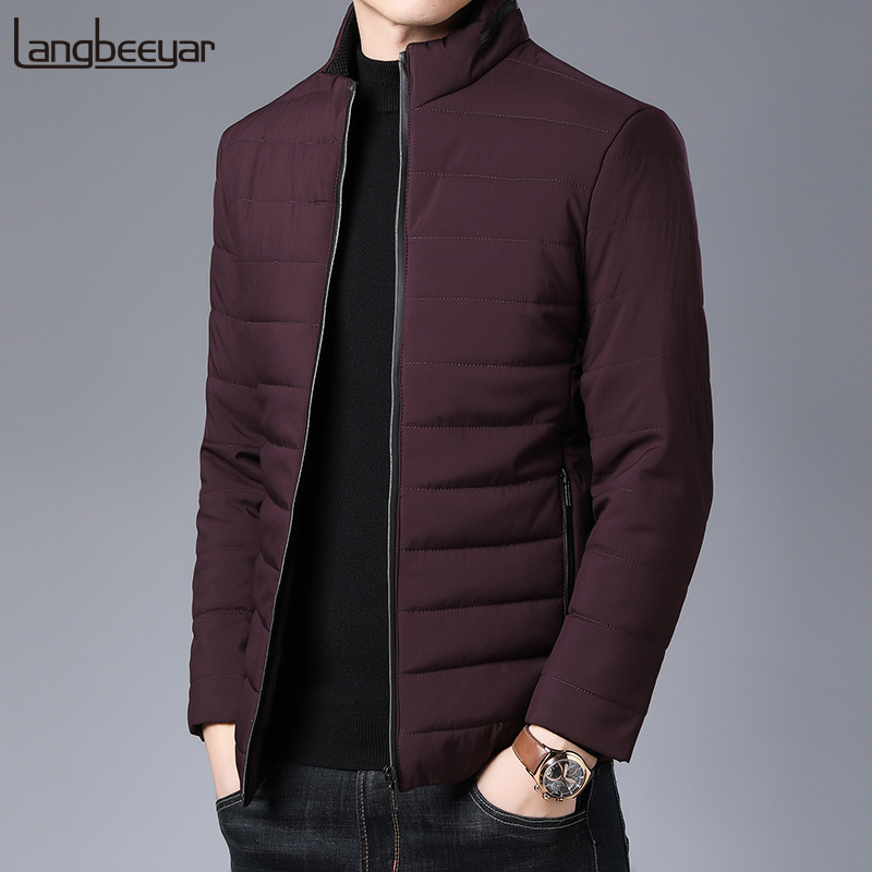 2020 Thick Winter Fashion Brand Jackets Men Parka Streetwear Korean Quilted Jacket Puffer Bubble Coats  Mens Clothing