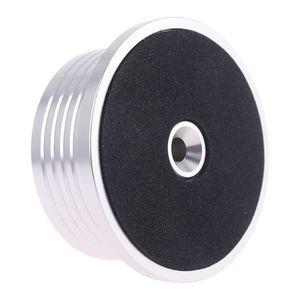 Image 3 - Universal 50Hz LP Vinyl Record Disc Plattenspieler Stabilisator Aluminium Gewicht Clamp Mit Test Geschwindigkeit Blase