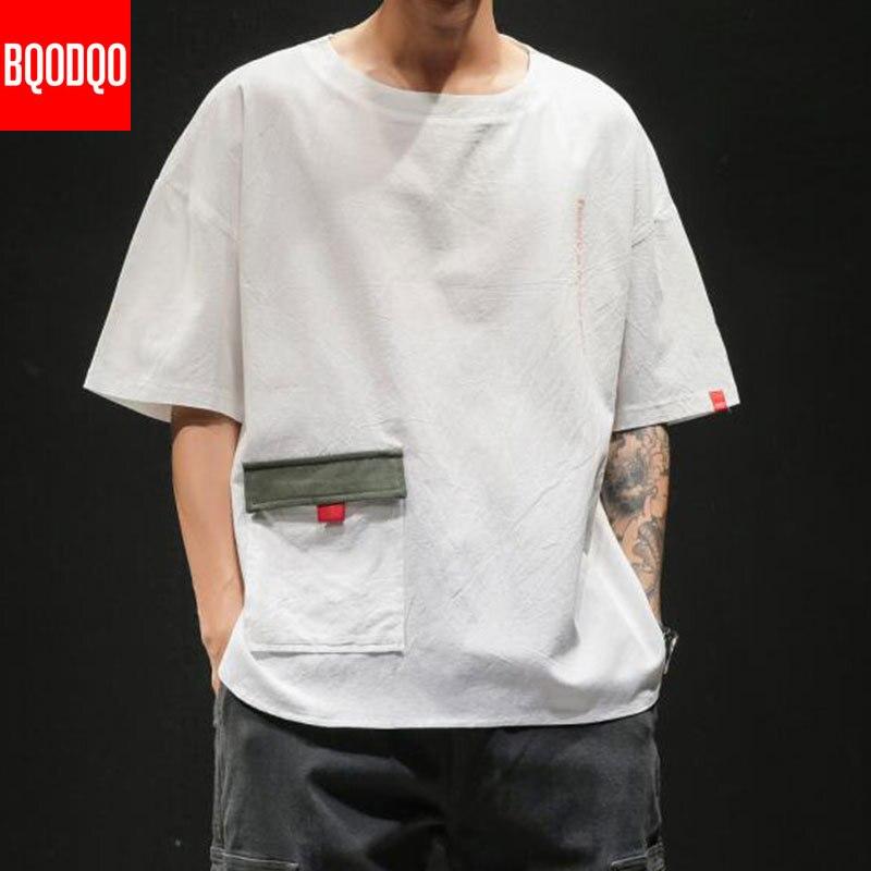 Fashion T Shirt For Men 100% Cotton Tshirts Streetwear Male Causal Japanese Summer Short Sleeve Fitness Funny Stylish Tee Shirt