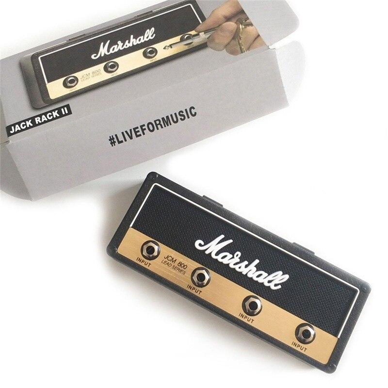 Rack Amp Vintage Guitar Amplifier Key Holder Jack Rack 2.0 Marshall JCM800 Marshall Key Holder Guitar Key Home Decoration
