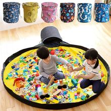 Bag Toys Toy-Bags Container-Organizer Baskets Blocks Storage Play-Mat Multifunctional