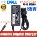 Оригинальный 19,5 V 3.34A 65 Вт ноутбук зарядное устройство адаптер переменного тока питания для ноутбука Dell Vostro 15 3561 3562 3565 3568 3572 3578 5568 5370 XPS 13 9333 9344
