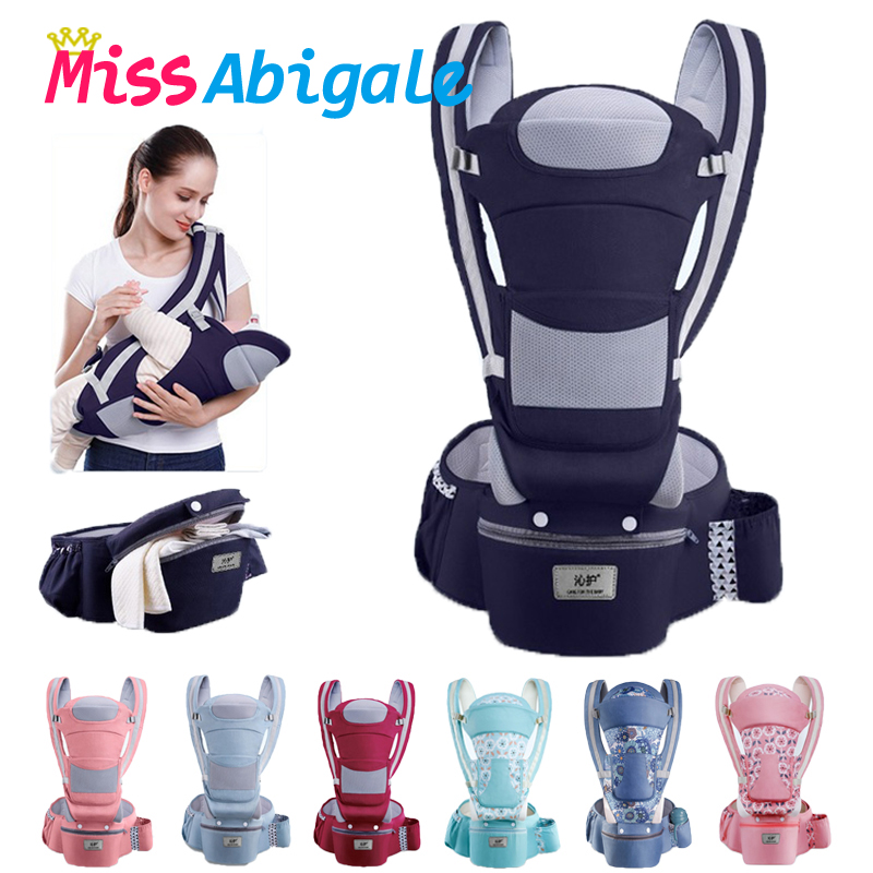 Breathable Ergonomic Baby Carrier Backpack Portable Infant Baby Carrier Kangaroo Hipseat Heaps Baby Sling Carrier Wrap on AliExpress