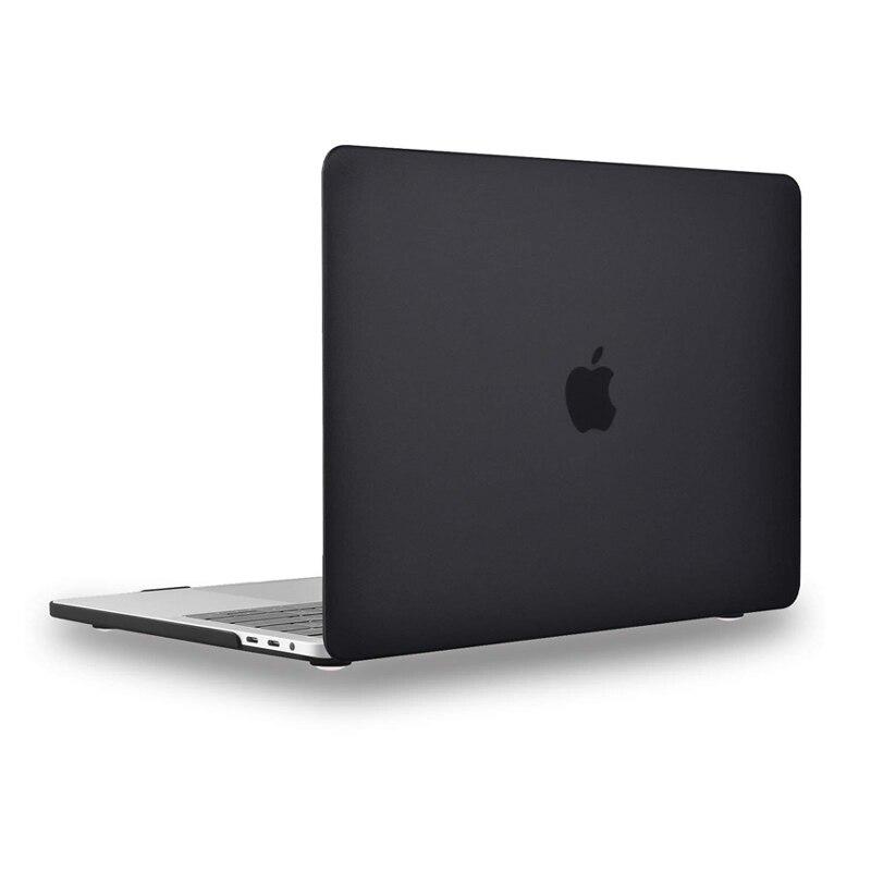 Cristal  fosco caso portátil para apple macbook ar retina pro 11 12 13 15 polegada, difícil vender caso para mac livro a1278 pro 13.3 ar a1466