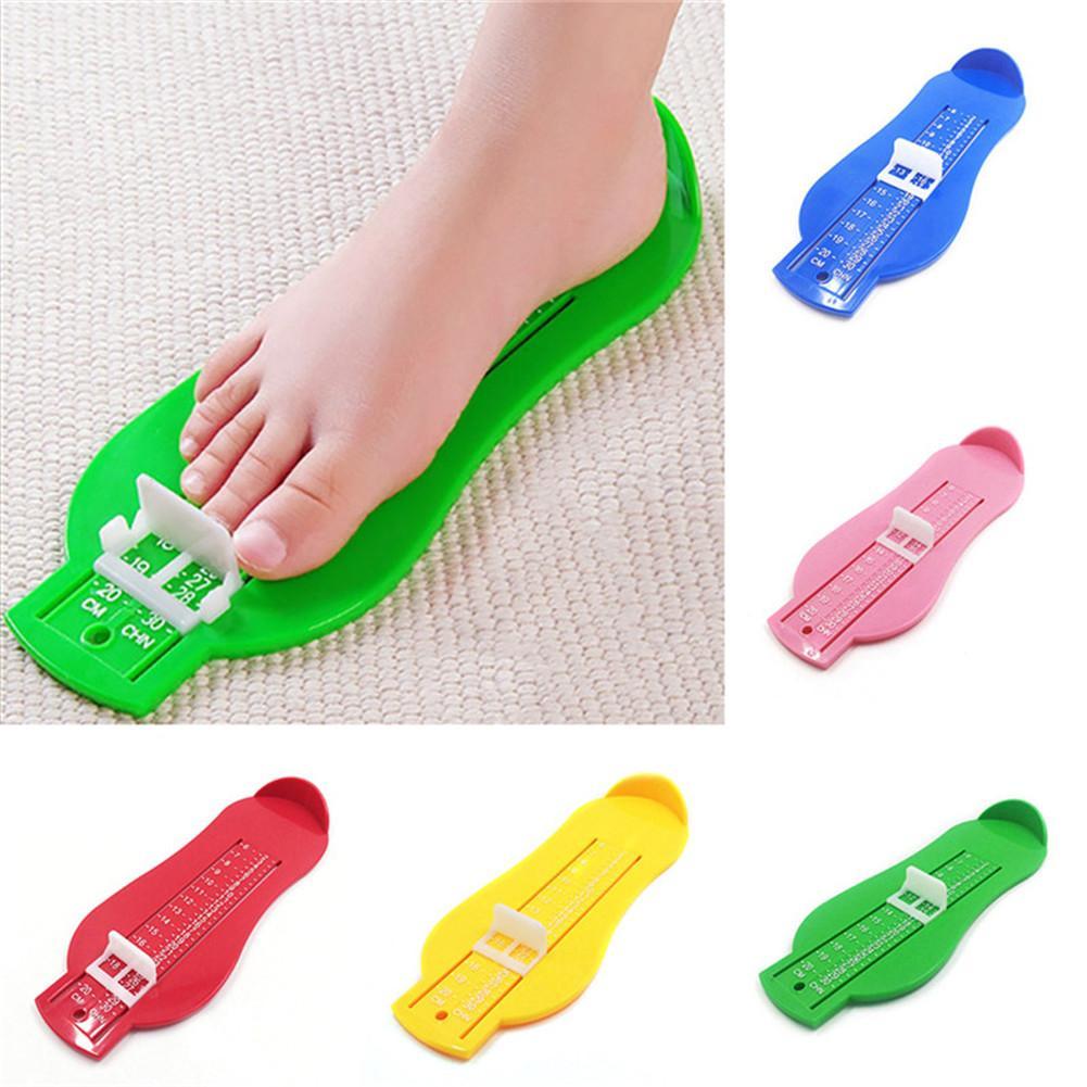 Toddler Baby Feet Measure Shoes Size Measuring Tool Infant Kids Shoe Fittings Gauge Children Foot Ruler