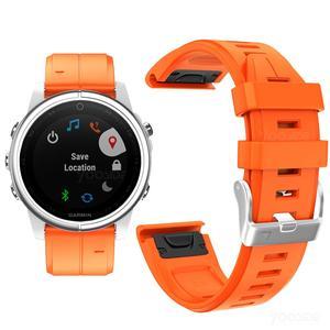 Image 4 - Ремешок YOOSIDE для часов Fenix 6S, 20 мм, Быстросохнущий Силиконовый водонепроницаемый спортивный браслет для Garmin, Fenix, 5S, Plus, Смарт часы