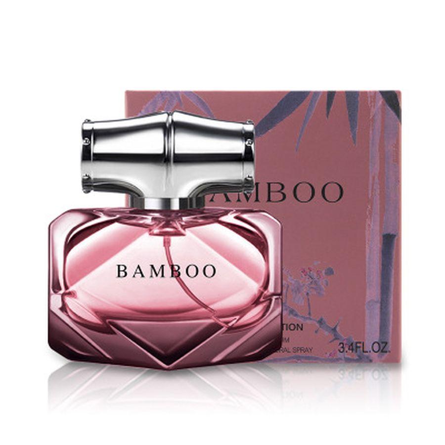 90ml Women Bamboo Perfume Fresh Long Lasting Body Spray Lady Glass Bottle Women Perfume Fragrance Female Parfum Atomizer Water
