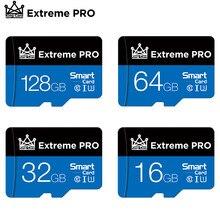 Carte mémoire micro SD TF de classe 10 pour smartphone avec adaptateur, mémoire flash de 8 go 16 go 32 go 64 go 128 go