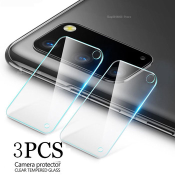 3pcs Camera Protector Tempered Glass on The for Samsung Galaxy A51 A71 m21 A11 m31 a41 A31 a21s M30s M11 Protective Len 9H Glass image