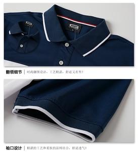 Image 3 - 2020 남성 폴로 셔츠 여름 남성 캐주얼 통기성 플러스 사이즈 5xl 스트 라이프 반팔 티셔츠 코튼 6XL 5XL XXXXL 플러스 사이즈