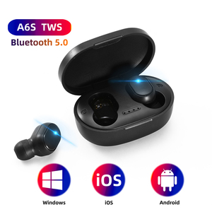 BOHM A6S TWS Bluetooth Earphone Wireless Headphone Stereo Headset Mini Earbuds with charge case for all smartphone