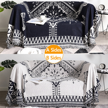 Sofa Hanging Tapestry Plaid Throw Knit Crochet Soft Blankets Multifunctional Couch Cover Leisure Air Conditioning Sofa