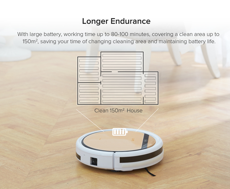H016ee9751a6a4f7f938973cbd3d37534O ILIFE V5sPro Robot Vacuum Cleaner vacuum Wet Mopping Pet hair and Hard Floor automatic Powerful Suction Ultra Thin disinfection
