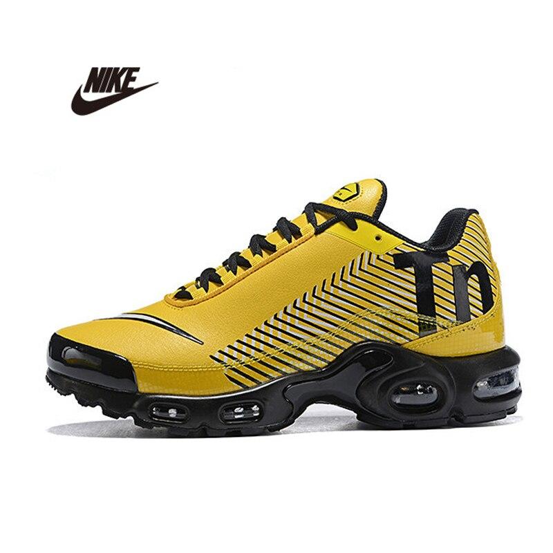 Original NIKE AIR MAX PLUS TN hommes respirant mode chaussures de course sport baskets baskets chaussures de sport de plein AIR AQ0243-001