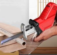 Li Ion Battery Cordless Reciprocating Saw Electric Saber Saw Blade Wood Metal Chain Saws Cut Power Tool Portable 36VF 4500mAh