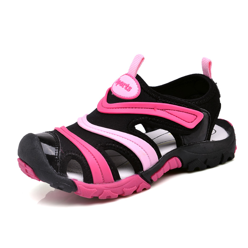 Kids Boys Sandals Children Summer Beath Shoes For Boy Soft And Light Sole EU Size 27-37# Sandalias For Big Boys