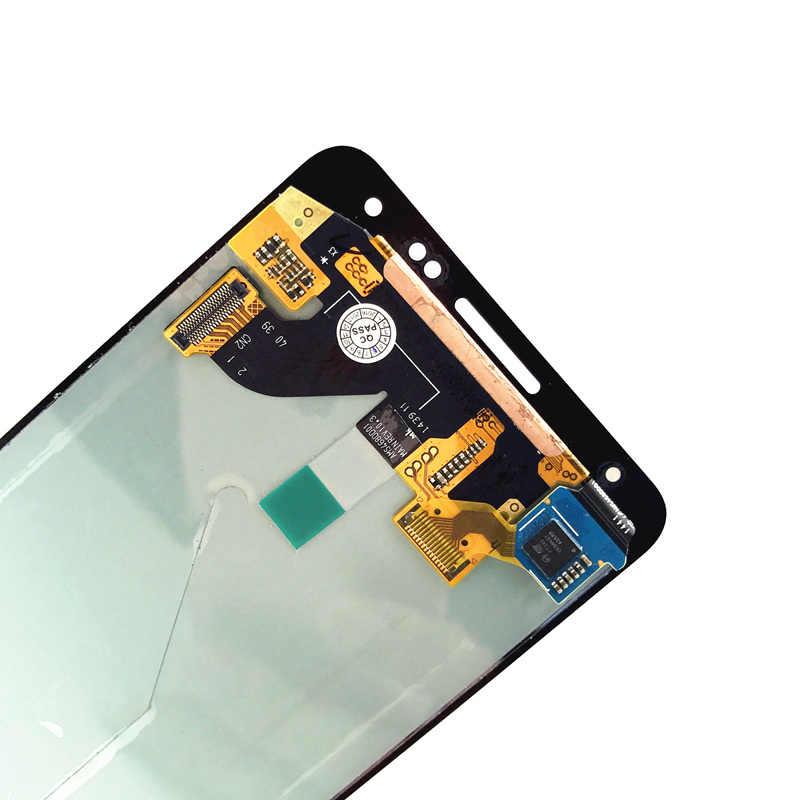 Super AMOLED LCDs para Samsung Galaxy alfa G850 G850F G850M G850K teléfono pantalla LCD de pantalla táctil digitalizador Asamblea reemplazo