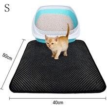 Коврик для кошачьего туалета EVA двухслойный коврик для кошачьего туалета Trapper Mats w/водонепроницаемый слой S-L