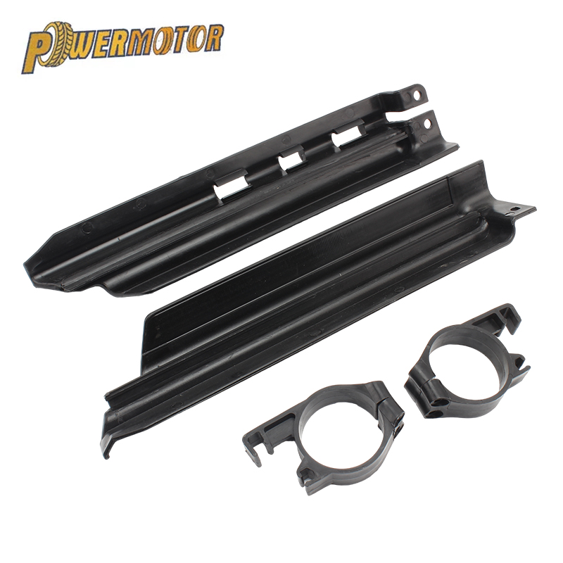 Motorcycle Front Fork Shock Absorption Spillplate Guard Protector Protect For Kawasaki KLX250 KDX125 KDX200 KDX250