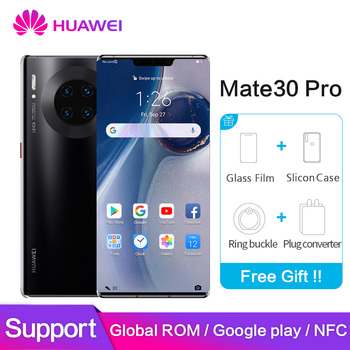 Huawei mate 30 pro Global ROM NFC Google Play 8GB 128GB 256GB mate30pro 40MP+40MP+32MP 6.53 inch Kirin 990 Octa Core Mobilephone