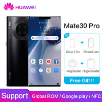 Huawei mate 30 pro Global ROM NFC Google Play 8GB 128GB 256GB mate30pro 40MP+40MP+32MP 6.53 inch Kirin 990 Octa Core Mobilephone