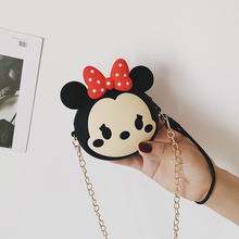 Hot On Sale Kawaii Minnie Cartoon Pouch Children Zipper Coin Purse Silicone Change Bag Wallet Kids Girls Women For Party Purse цена 2017