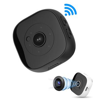 H9 Wifi Mini kamera sportowa kamera akcyjna DV mikro kamera IR noktowizor czujnik ruchu kamera nagrywanie audio wideo IP kamera WIFI tanie i dobre opinie Sunydeal CN (pochodzenie) 1080 p (full hd) H9 1080P Mini Camera Microsd tf CMOS