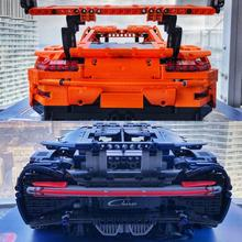 20097 20001 20086 gGTR rRSR Bugatti Chiron Technic MOC Car Compatible with Iego 42096 42083 42056 Building Blocks Toys gifts