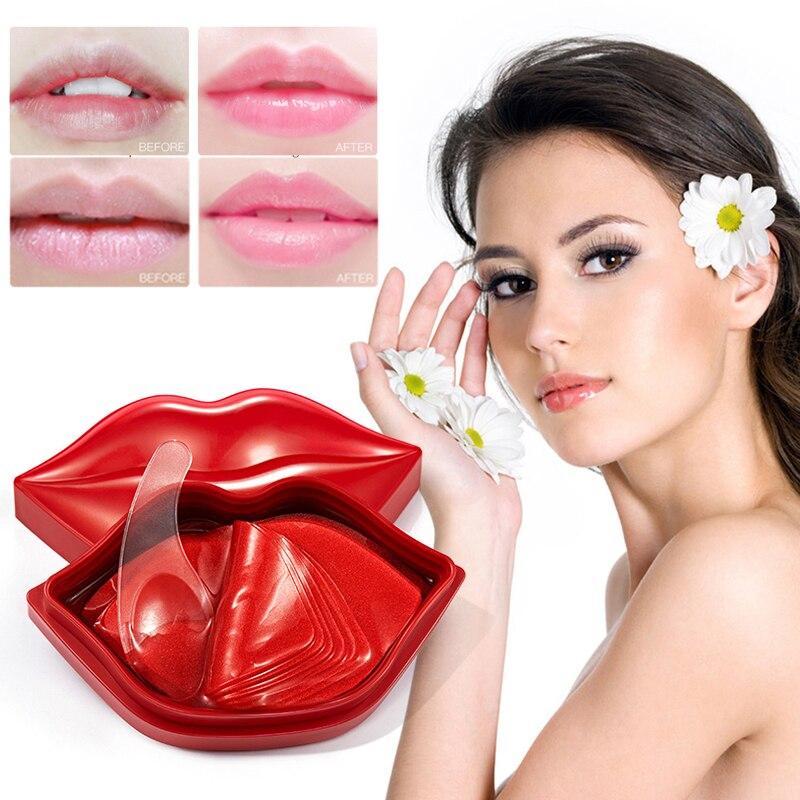 20 шт. вишня увлажняющая маска для губ анти-сушки увлажняющие носки с нарисованными питательная, стирает линию губ для ухода за губами инстру...