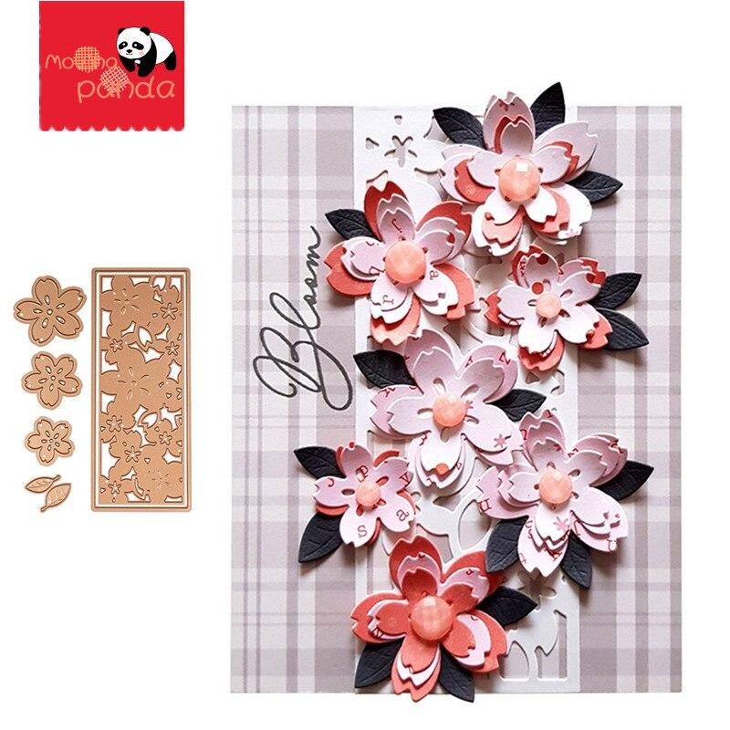 Sakura Blossoms Dies New 2020 Cutting Dies For DIY Scrapbooking Embossing Cards Tool Decorative Crafts Die Cuts