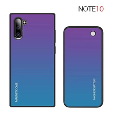 Note 10 Wireless Battery Charger Case For Samsung Galaxy Note 10 Plus Slim Tempered glass shockproof Power Bank Charging cover