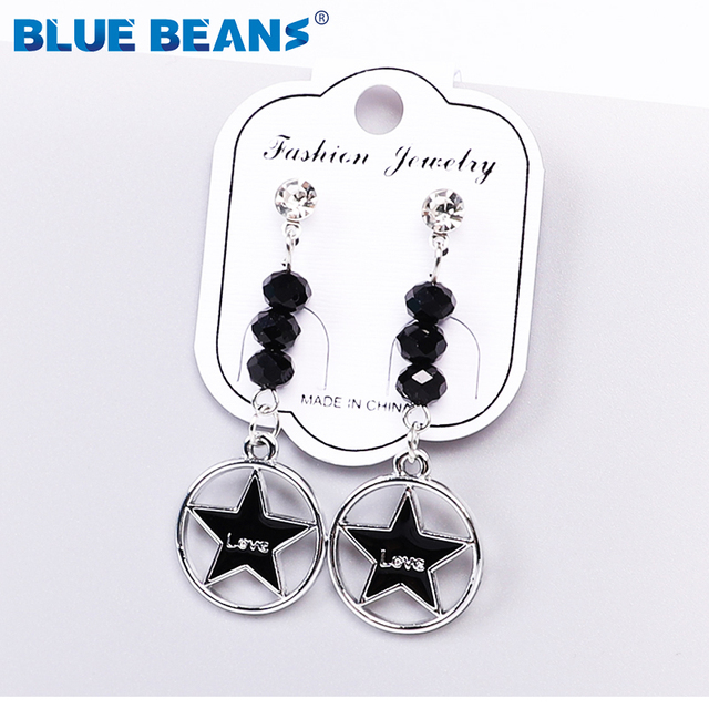 2020 Pearl  Earings for Women Drop Black Earrings Jewelry Fashion Small Earrings High Quality  Earing Pendientes New Women 4