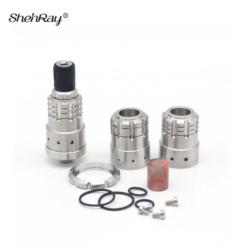Shenray 900 BF RDA Atomizer E Cigarette Bottom Liquid Feeding Squeezer Mech RDA Tank for 510 Squonk Mechanical Box Mod Vapor Kit