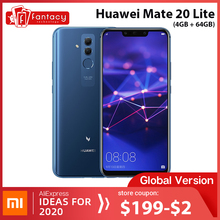 Global Version Huawei Mate 20 Lite 4G 64G 6.3 inch Mobile