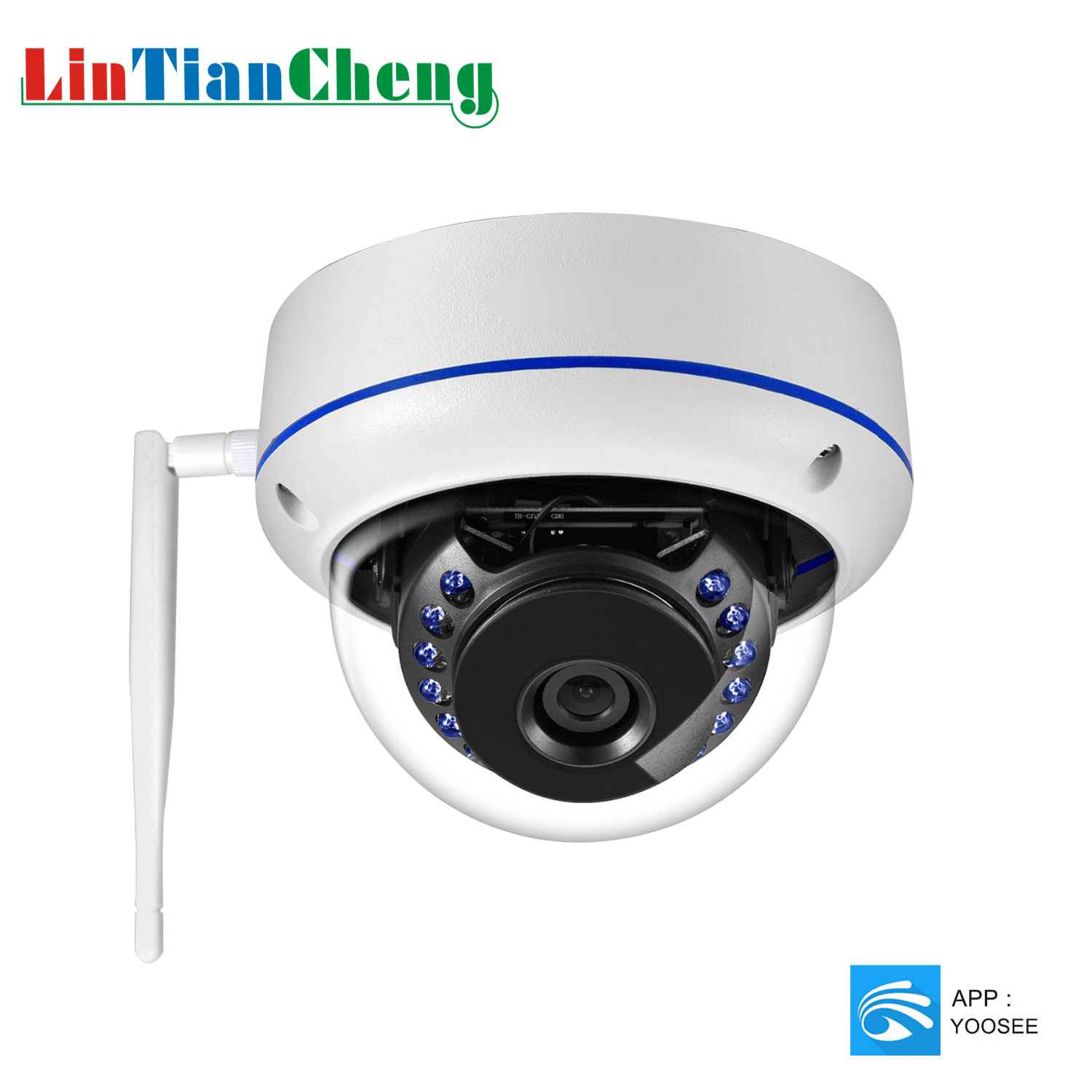 2019 Wifi IP Camera Dome 1080P HD IR Night Vision Home Security CCTV Surveillance Camera Wireless Indoor Monitor Cam Yoosee APP