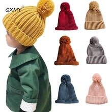 Детская шапка для девочек вязаная шапочка детская мальчиков