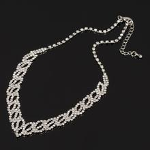 Trendy Crystal Statement Necklaces Pendants Women Jewelry Multi Link Chain rhinestone Necklace Bijoux Colares N316 trendy crystal statement necklaces pendants women jewelry multi link chain rhinestone necklace bijoux colares n316