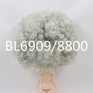 Image 2 - Blyth دمية الجليدية RBL فروة الرأس وقبة شعر مستعار مموج فقط لدمية مخصصة لتقوم بها بنفسك
